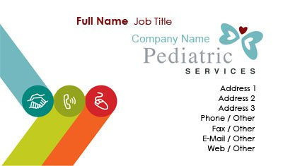 Pediatrician Business Card Template